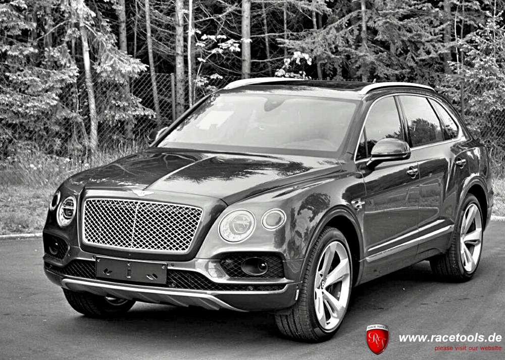 Bentley Bentayga 6.0 W12 Tuning Powerkit plug & play RaceTools Chiptuning